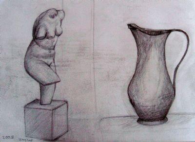 Simya Bakır Vazo Art Academy Resim Detay