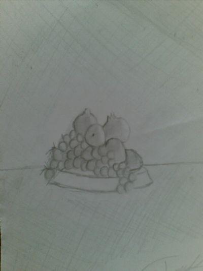 Genç Ressam Meyve Tabağı Art Academy Resim Detay
